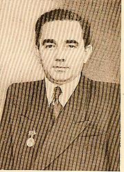 Kirjailijan kuva. Alexander Kotov, 1947