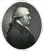 Foto do autor. Charles Macklin. Frontispiece from Memoirs of the life of Charles Macklin, esq. (1799) by James Thomas Kirkman.