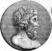 Forfatter foto. Image from <b><i>Sixteen select idyls of Theocritus</i></b> (1839) edited by D. B. Hickie