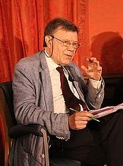 Forfatter foto. Roger Chartier en mai 2017