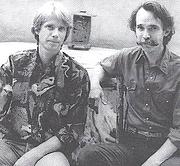 Författarporträtt. Michel Monteaux (left) and Henry Glassie