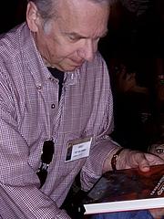 Författarporträtt. Chet Williamson at HorrorFind September 4, 2010 photo by Nathan Filizzi (yoyogod)