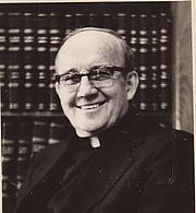 Fotografia de autor. Fr. Leonard Foley, ofm 1979; Friarhurst Retreat House; Born 10-18-1913; Died 4-3-1994