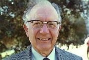 Author photo. George M. Bergman, Berkeley