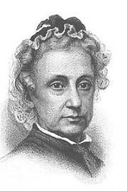 """Författarporträtt. Drawing of Elizabeth Prentiss from the frontispiece of The Life and Letters of Elizabeth Prentiss By Provided by the Wheaton College Archives - From the frontispiece of The Life and Letters of Elizabeth Prentiss, compiled by her husband George Lewis Prentiss (New York: Randolph & Co., 1882), PD-US, <a href=""""//en.wikipedia.org/w/index.php?curid=31574956"""" rel=""""nofollow"""" target=""""_top"""">https://en.wikipedia.org/w/index.php?curid=31574956</a>"""