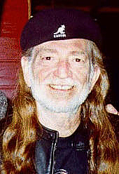 """Author photo. Willie Hugh Nelson (1933-    ) Photo by <a href=""""http://commons.wikimedia.org/wiki/User:Hattrem"""">Kjell Ove Hattrem</a>, May 1996, Molde, Norway"""