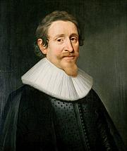 "Forfatter foto. Hugo Grotius - Portrait by Michiel Jansz van Mierevelt, 1631. From <a href=""http://en.wikipedia.org/wiki/Image:Michiel_Jansz_van_Mierevelt_-_Hugo_Grotius.jpg"">Wikipedia</a>"