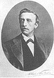 Foto do autor. Eduard Douwes Dekker, aka Mutatuli