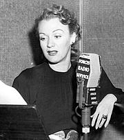 Författarporträtt. Armed Forces Radio Service in the 1940s