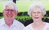 Foto de l'autor. David B. Woodward, D.Min., with his wife, Betty. Xulon Press.