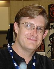 Kirjailijan kuva. Taken at the 2008 San Diego Comic Con.
