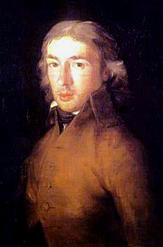 Författarporträtt. Francisco José de Goya y Lucientes (30 March 1746 – 16 April 1828)