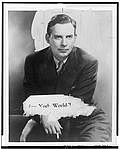 Author photo. NYWT&S Collection, Library of Congress, Prints and Photographs Division, Reproduction Number LC-USZ62-118224