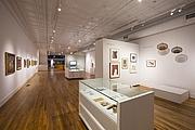 Foto del autor. Upper level gallery of BMCM+AC