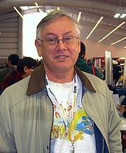 Kirjailijan kuva. McLoad at the 2012 New York Comic Con