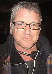 Författarporträtt. Long time director of multiple Battlestar Galactica episodes, Michael Rymer. Also Co-excecutive producer of 17th Precinct and director of the pilot. Day 5 of filming. Date:14 March 2011, 19:23 Author: sean.koo [via Wikimedia]