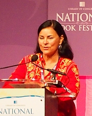 "Author photo. reading at National Book Festival By Slowking4 - Own work, GFDL 1.2, <a href=""https://commons.wikimedia.org/w/index.php?curid=62180041"" rel=""nofollow"" target=""_top"">https://commons.wikimedia.org/w/index.php?curid=62180041</a>"