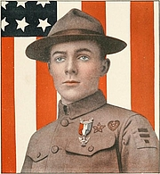 Författarporträtt. Image from <b><i>Boys' Life</i></b> (1911) by the Boy Scouts of America