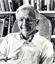 Författarporträtt. Milton Meltzer in 1996 (Worcester Telegram & Gazette)