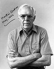 Fotografia de autor. Martin Gardner, Mathematician