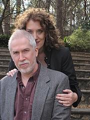 Foto de l'autor. Susan Griffith w/ her husband, Clay Griffith.