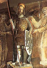 Foto do autor. Saint Wenceslaus / Statue in St. Vitus Cathedral, Prague.