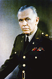 Forfatter foto. George Catlett Marshall (1880-1959)<br>1946 photograph