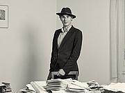 Författarporträtt. Marius Daniel Popescu