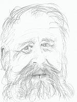 Foto de l'autor. drawing by Henry Denander