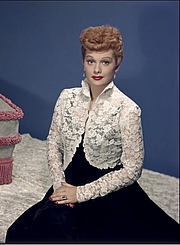Författarporträtt. Lucille Ball