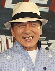 Author photo. Jackie Chan