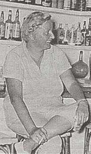 Författarporträtt. Wuorio in Ibiza, early 1960s