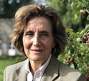 Författarporträtt. Guillemette de Sairigné, dans sa maison de Saint-Florent-des-Bois, jeudi 24 octobre 2019