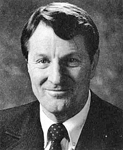 """Författarporträtt. Photo of Neal A. Maxwell, an apostle and a member of the Quorum of the Twelve Apostles of The Church of Jesus Christ of Latter-day Saints (LDS Church). By Editors: Christie Williams and LeeAnn Roberts - The Rixida: annual publication of the associated students of Ricks College.: Image found here, Public Domain, <a href=""""//commons.wikimedia.org/w/index.php?curid=16891197"""" rel=""""nofollow"""" target=""""_top"""">https://commons.wikimedia.org/w/index.php?curid=16891197</a>"""