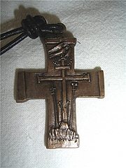 Fotografia de autor. Professional Cross of the Redemptorists.  Photo by user FS Sebowsky / German Wikipedia.