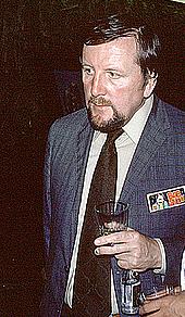 Kirjailijan kuva. Photo by Lars-Olov Strandberg, Seacon '79 (37th World Science Fiction Convention), Brighton, England, 1979. Copyright © Lars-Olov Strandberg