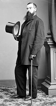 Foto do autor. Charles Godfrey Leland, circa 1853