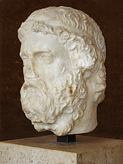 Fotografia de autor. Roman Marble, Imperial Period (2nd or 3rd Century).  Photo by Eric Gaba / Wikimedia Commons.