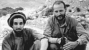 Forfatter foto. Christophe de Ponfilly et le Commandant Massoud en Afghanistan