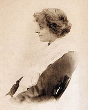 Foto do autor. Eleanor Farjeon in 1899