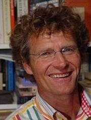 Kirjailijan kuva. Hans van Megen (1951-)