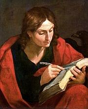 Foto del autor. Saint John the Evangelist, by Guido Reni. Wikimedia Commons.