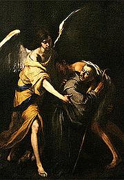 Foto do autor. Saint John of God / by Murillo (1672).