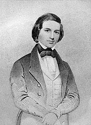 Kirjailijan kuva. Image of a young Timothy Shay Arthur (1809-1885)