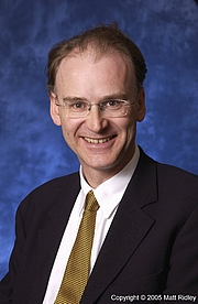 Author photo. © 2005 Matt Ridley