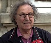 Fotografia de autor. Jean-Michel Delacomptée en Août 2019 lors d'une présentation de son ouvrage « La Bruyère, portrait de nous-mêmes » pur la Librairie Mollat (Editions Robert Laffont)