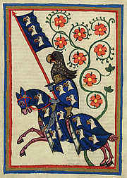 Författarporträtt. Codex Manesse