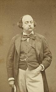 Foto del autor. Portrait de Gustave Flaubert par Etienne Carjat en 1860