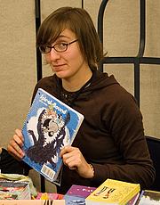 Forfatter foto. Stumptown Comics Fest 2006, photo by Joshin Yamada