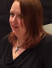 Forfatter foto. Siri Pettersen (2015)<br>Photo: Britt-Marie Ingdén-Ringselle